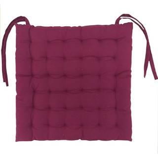 Vankúš na stoličky   SEE-AAT- CH- 3475 40X40 fialový