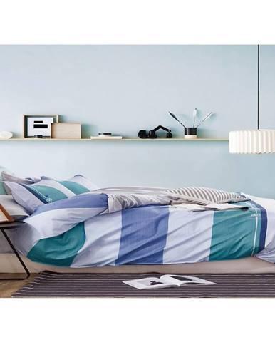 Bavlnená saténová posteľná bielizeň albs-0994b/2 140x200 lasher