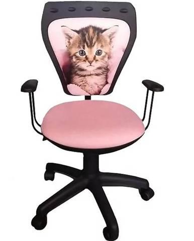 Kancelárska stolička Ministyle mačiatko