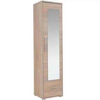 Vysoká skrinka s zrkadlom Hit H01 48 cm