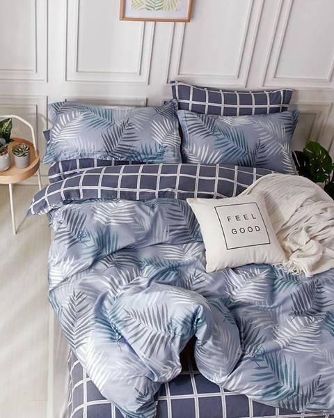 MERKURY MARKET Bavlnená saténová posteľná bielizeň ALBS-01206B