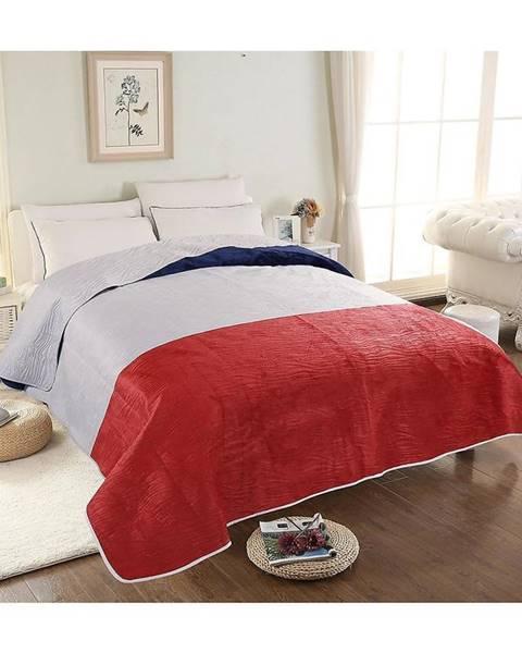 MERKURY MARKET Prikrývka na posteľ Velvet 03 160x200