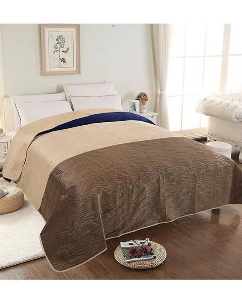 MERKURY MARKET Prikrývka na posteľ Velvet 05 200x220