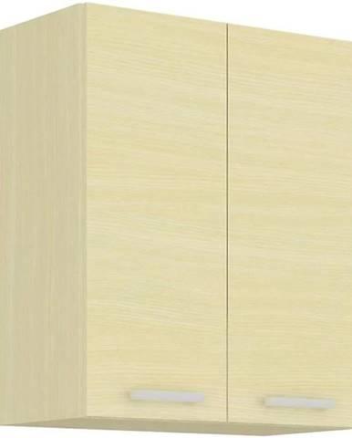 Skrinka do kuchyne Wiktoria chamonix/legno 60G-72