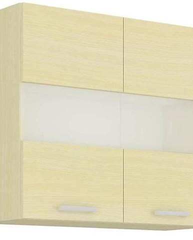 Skrinka do kuchyne Wiktoria chamonix/legno 80GS-72