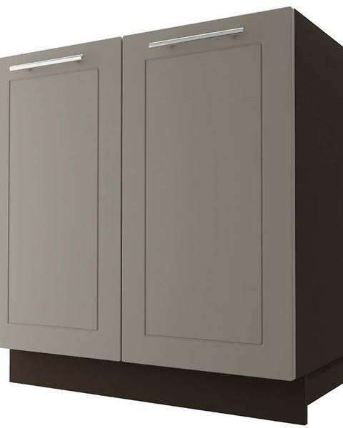 MERKURY MARKET Skrinka do kuchyne Quantum D8Z/80 Beige mat