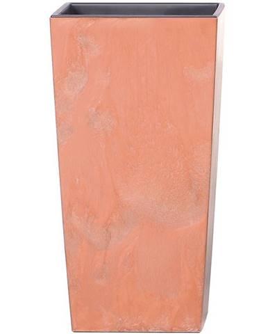 Kvetináč Urbi Square Effect terakota DURS400E-R624