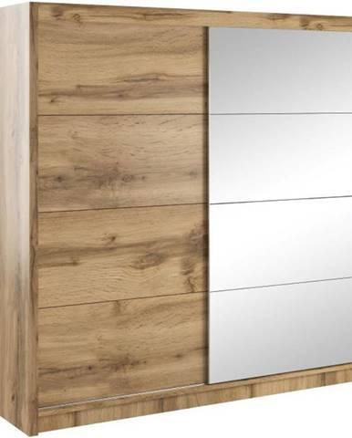 Skriňa Verona 200 wotan/zrkadlo
