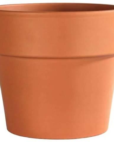 Kvetináč CALIMA keramický terakota d28x24cm