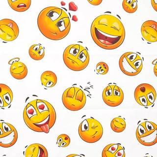 Textilný záves Emoticon 120/200