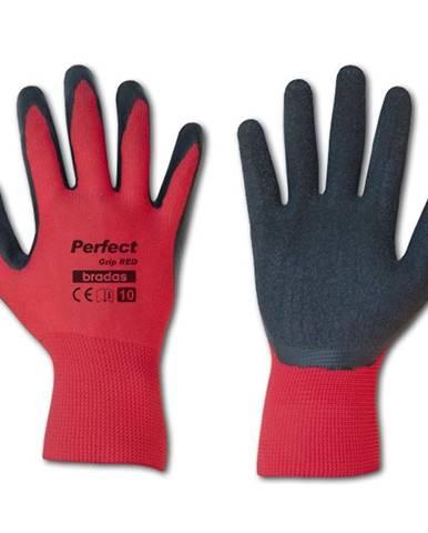 Ochranné rukavice Perfect červené latexové ochranné rukavice