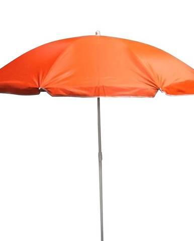 Zahradný slnečník 180 cm oranžový