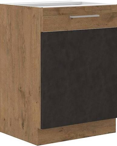 Skrinka do kuchyne VIGO grafit mat 60D 1F BB