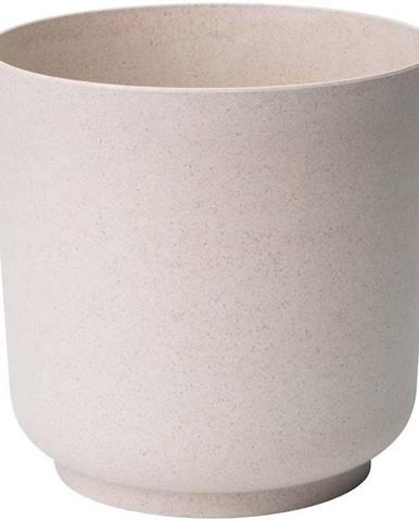 Kvetináč Satina Eco 13 cm biely