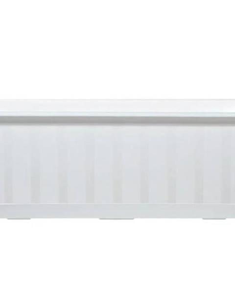 MERKURY MARKET Kvetinač balkónový Agro IS400 S449 biely