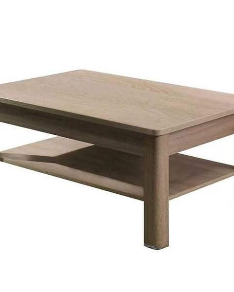 MERKURY MARKET Systémový nábytok konferenčný stôl fill 7 Sonoma/Grafit
