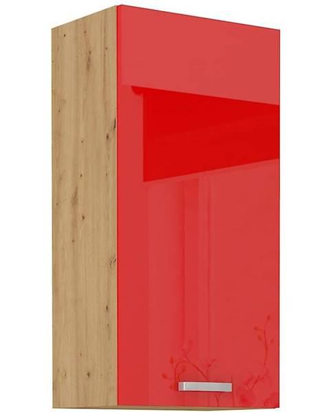 MERKURY MARKET Skrinka do kuchyne Artisan červená lesk 45G-90 1F