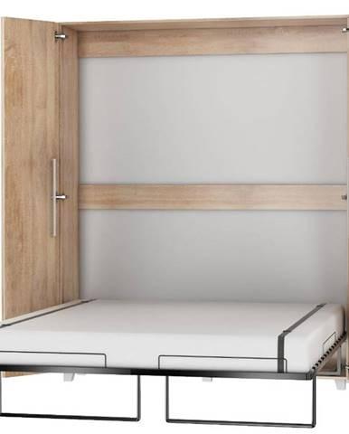 Sklápacia posteľ Teddy 160 sonoma