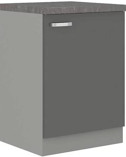 MERKURY MARKET Skrinka do kuchyne Grey 60d 1f bb
