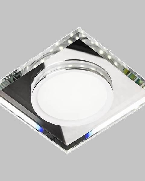 MERKURY MARKET Stropné svietidló SSP-22 CH/TR+WH 8W LED štvorcový 2263885