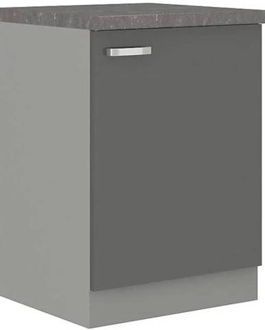 Skrinka do kuchyne Grey 60d 1f bb