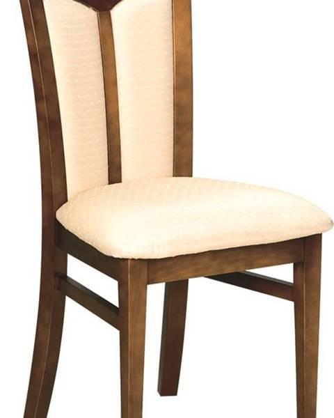 TARANKO Krzeslo W-04 rustikálna jedálenská stolička nový orech