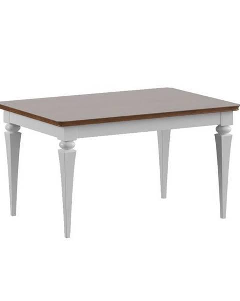 TARANKO Torino TO-S2 konferenčný stolík biely vysoký lesk