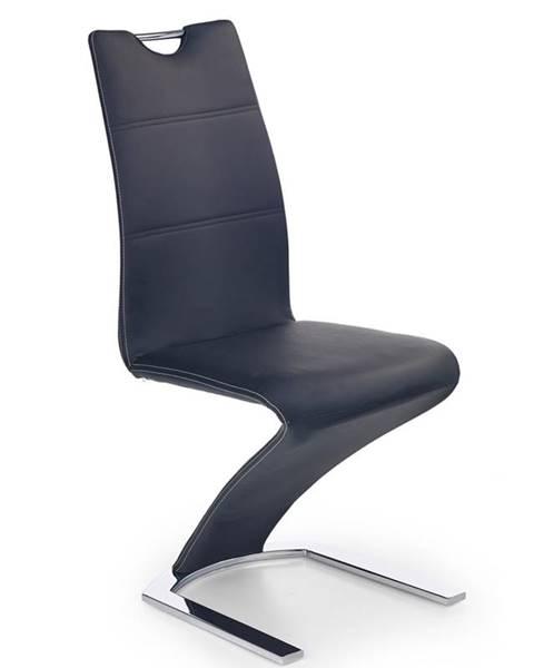 Halmar K188 jedálenská stolička čierna