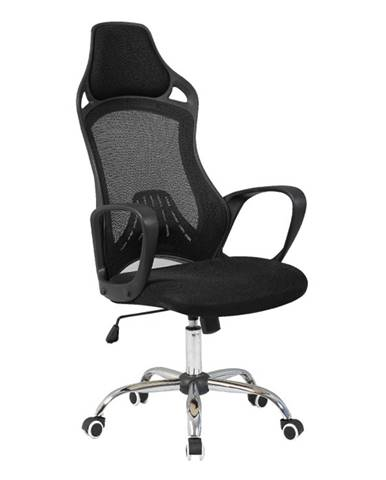 Ario kancelárska stolička s podrúčkami čierna