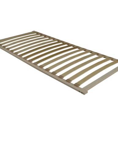 Flex 3-zónový lamelový rošt 90x200 cm brezové drevo