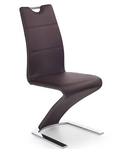 K188 jedálenská stolička hnedá