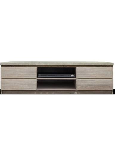 Panama 6 tv stolík dub sonoma