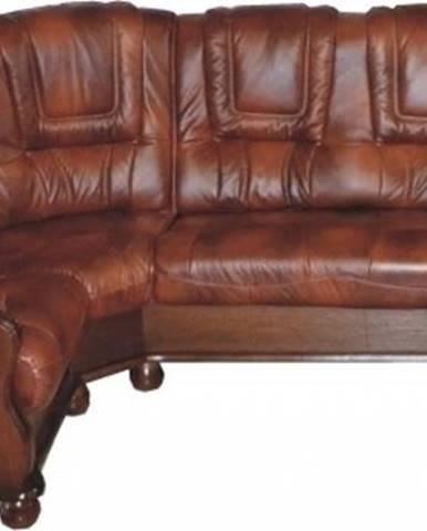Roma L kožená rohová sedačka D3