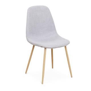 Lega jedálenská stolička svetlosivá