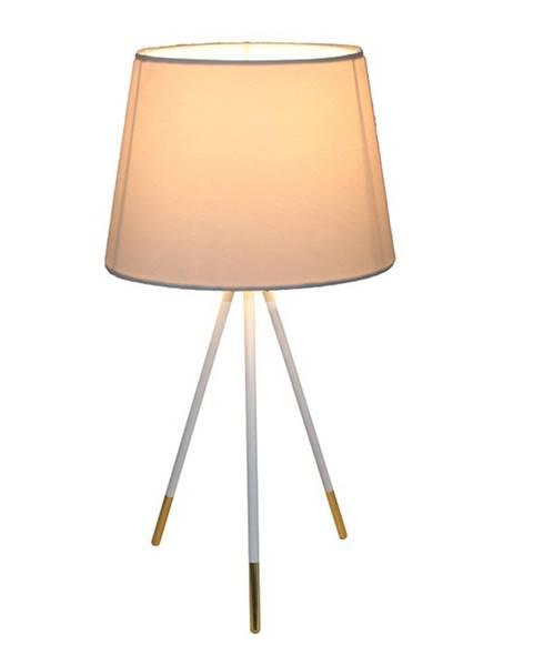 Kondela Jade Typ 5 stolná lampa biela