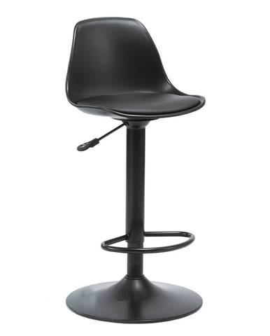 Dobby barová stolička čierna