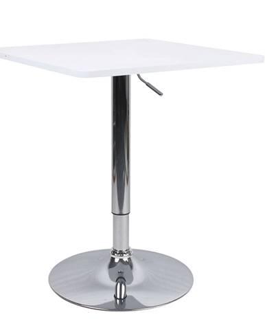 Florian 2 New barový stôl s nastaviteľnou výškou biela
