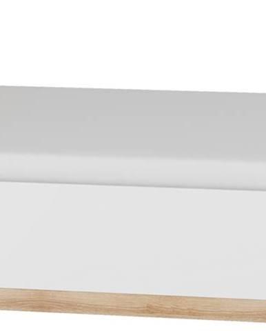 Maximus MXS-18 160 manželská posteľ s roštom sonoma svetlá