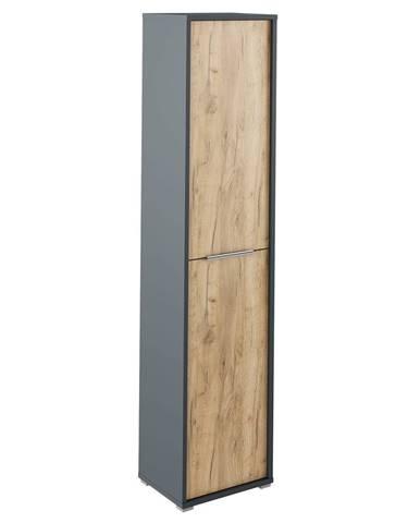 Rioma Typ 06 policová skriňa grafit