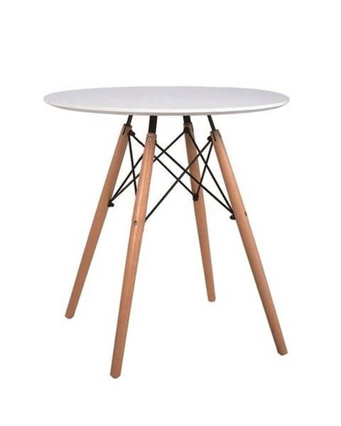 Tempo Kondela Gamin New okrúhly jedálenský stôl biela