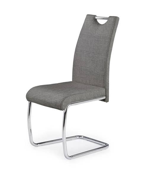 Halmar K349 jedálenská stolička sivá