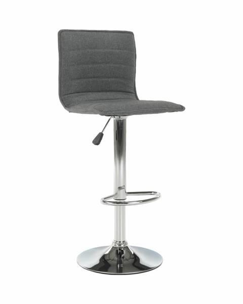 Tempo Kondela Pinar barová stolička sivá