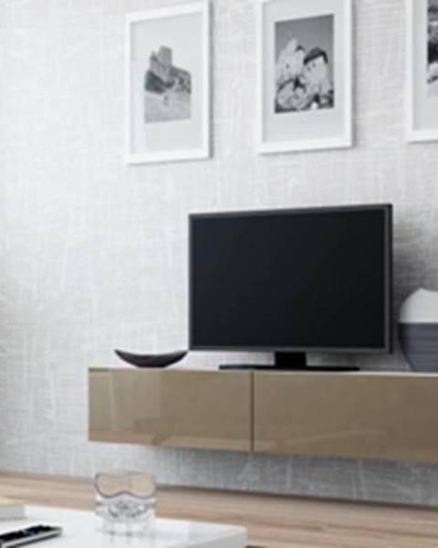 CAMA MEBLE Vigo 140 tv stolík na stenu biela