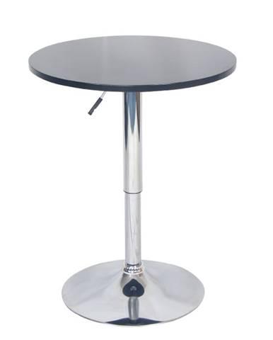 Brany New okrúhly barový stôl čierna