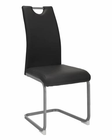 Dekoma jedálenská stolička tmavosivá
