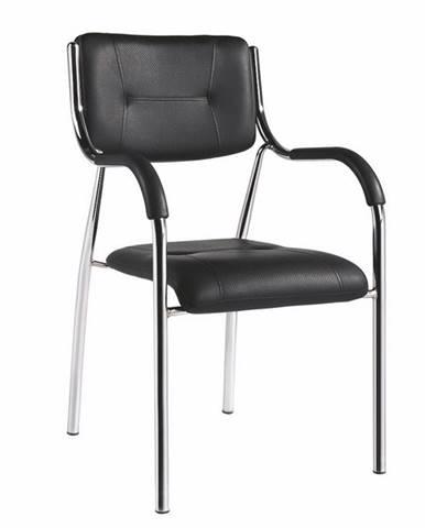Ilham konferenčná stolička čierna