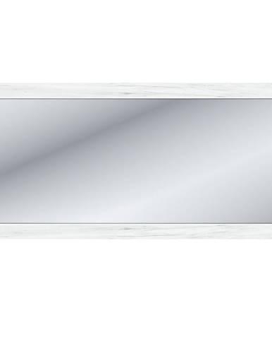 Sudbury W zrkadlo na stenu dub craft biely