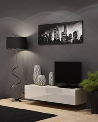 Vigo 140 tv stolík na stenu dub sonoma