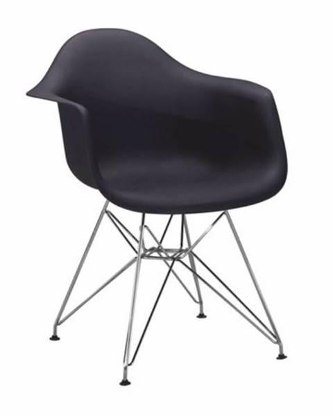 Tempo Kondela Feman 3 New jedálenská stolička čierna