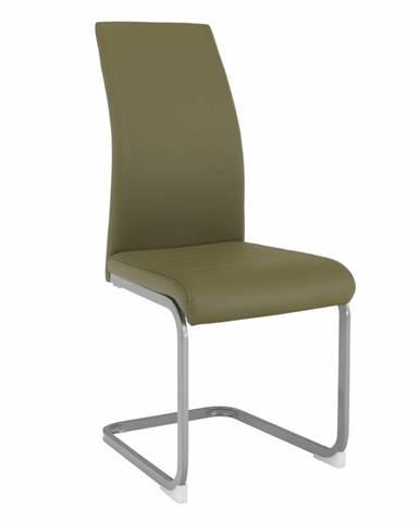 Nobata jedálenská stolička olivovozelená